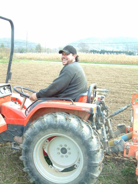 Jose on Tractor